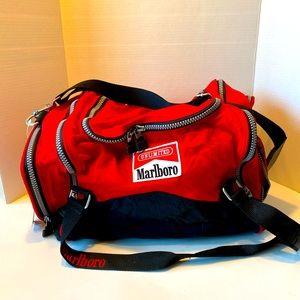 Vintage Marlboro Unlimited Duffle Travel Bag! NWT